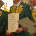 Der Praxisleiter Dr. Sommer wurde zum Rittmeister der Reserve befördert.